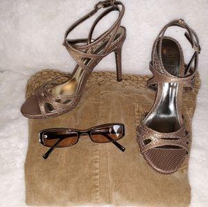 Ralph Lauren Leather heels
